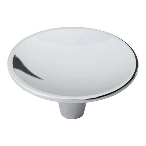 Dap Round Knob 2 1/2 Inch - Polished Chrome