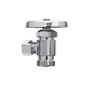"Satin Nickel - PVD Angle Valve, 3/8"" IPS"