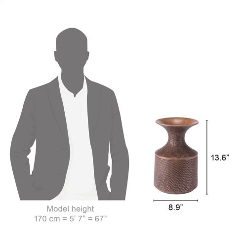 Brown Poly Bottle Small