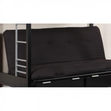 "Plosh 6"" Black Futon Mattress"