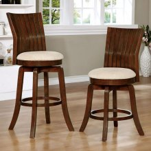 "Edgeland Swivel Bar Stool, 24"" Seat Ht."