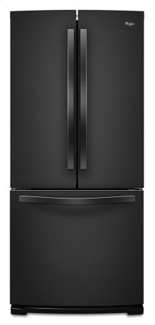 """19.6 cu. ft. Whirlpool® 30"""" French Door Refrigerator with More Usable Capacity"""