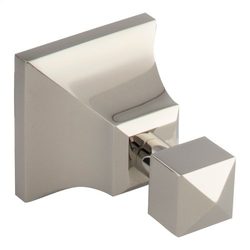 Gratitude Bath Hook - Polished Nickel