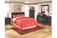 Huey Vineyard - Black 3 Piece Bed Set (Full)