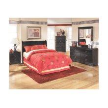 Huey Vineyard - Black 3 Piece Bed Set (Full)