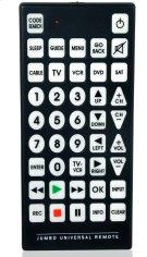 8-1 Jumbo Universal Remote Control Product Image