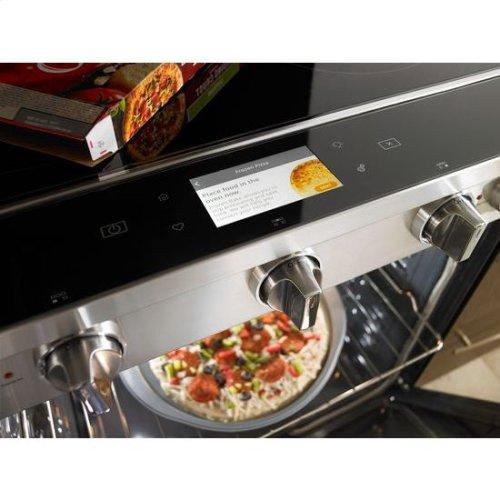 Whirlpool® 6.4 Cu. Ft. Smart Slide-in Electric Range with Frozen Bake™ Technology - Fingerprint Resistant Stainless Steel