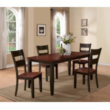 Black & Cherry Dining Set