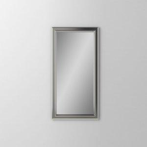 "Main Line 15-1/8"" X 29-7/8"" X 1-5/8"" Bryn Mawr Framed Mirror In Satin Nickel Product Image"