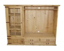TV Bookcase 3 Drawer 2 Doors