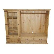 TV Bookcase 3 Drawer 2 Doors