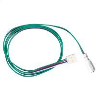 LED Tape 2ft Supply Lead WH