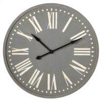 Grey Wall Clock. Product Image