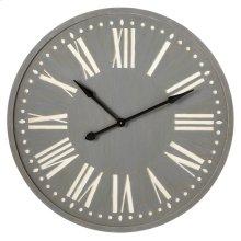 Grey Wall Clock.