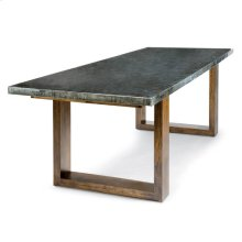 Lfd - Zinc Dining Table With Plain Top
