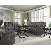 Fabric Rocker Reclining Loveseat (available in Leather)