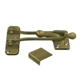 """5"""" Door Guard - Antique Brass"""