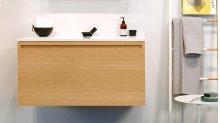 Wall-mounted vanity