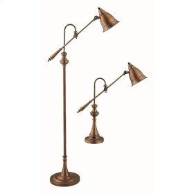 Watson Adjustable Pharmacy Lamps - Set of 2