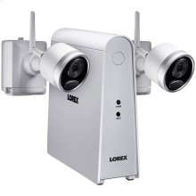 1080p Full HD Wire-Free Security System with 2 Cameras