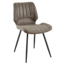 Aspira Side Chair, set of 2, in Brown