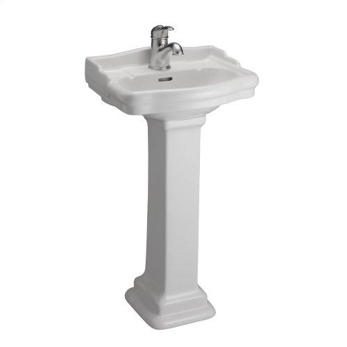 Stanford 460 Pedestal Lavatory - White