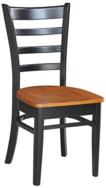 Emily Chair Cherry & Black