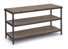 Low Console - Natural/ Metal Finish