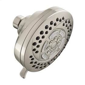 HydroFocus 6-Function Shower Head - Brushed Nickel