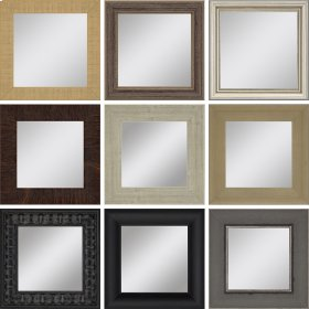 Mirrors Assorted 6x6 Pk/9