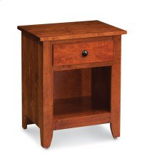 Shenandoah Nightstand with Opening on Bottom