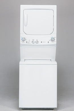 Unitized Spacemaker Washer and Gas Dryer
