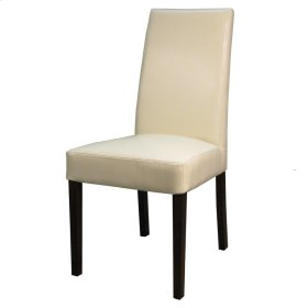 Hartford Leather Chair, Beige