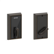 Schlage Control Smart Deadbolt with Addison trim - Aged Bronze