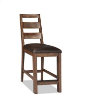 Taos Ladder Back Counter Stool with Cushion