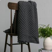Tessa Throw - Dark Grey Product Image