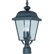 Builder Cast 3-Light Outdoor Pole/Post Lantern