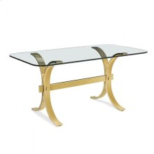 Oriana Desk - Brass