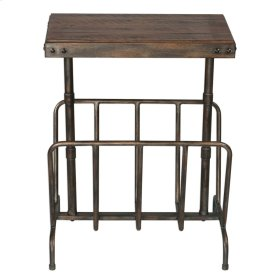 Sonora Magazine Side Table