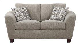 Emerald Home Urbana Loveseat W/2 Accent Pillows Bone U3613m-01-09