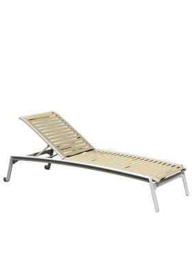 Elance EZ SPAN Ribbon Segment Chaise Lounge Armless with Wheels