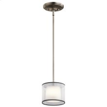 Tallie Collection Tallie Mini Pendant 1 Light AP