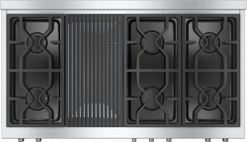 KMR 1355 LP RangeTop with 6 burners and grill for versatility and performance