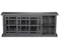 Adesso Large Storage Cabinet - Grey Wash Product Image