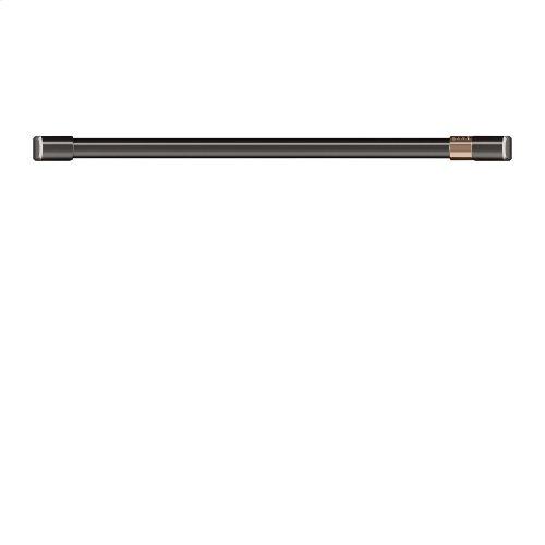 "Café 30"" Single Wall Oven Handle - Brushed Black"
