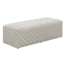 Emerald Home U1108-36-09 Jamison Upholstered Bench, Taupe