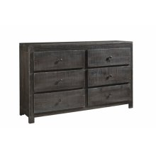 Drawer Dresser - Charcoal Finish