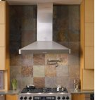 "Discovery 30"" Chimney Hood, wall-mounted in Stainless Steel Product Image"