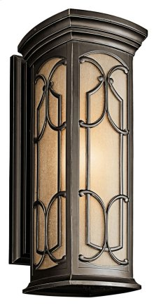 "Franceasi 22"" 1 Light Wall Light Olde Bronze®"