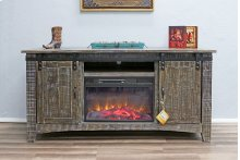 Barn Wood Fireplace